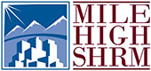 Mile High SHRM logo